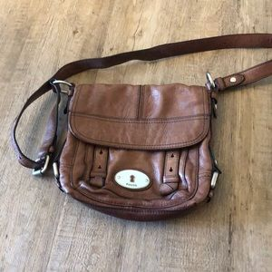Brown crossbody Fossil purse